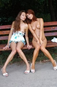A walk in the park turns into a naked hookup